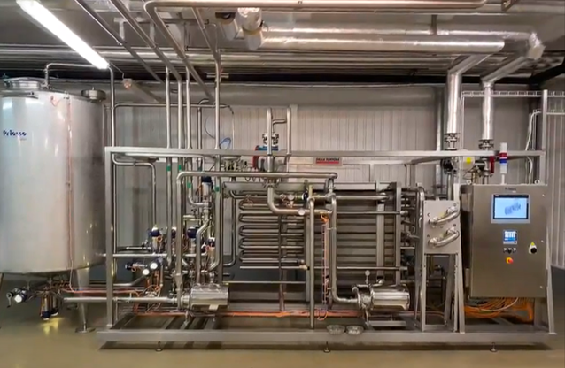 Della Toffola Pasteurizer for fermented bases